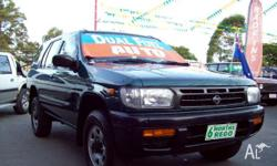 NISSAN,PATHFINDER,VG33E,1997, 4WD, green, 4D WAGON,
