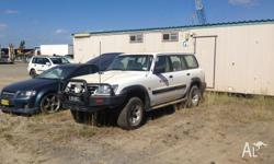 2003 Nissan patrol not running need new fuel injectors