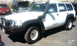 NISSAN, PATROL, 2006, 4dr WAGON, 3, 4cyl, 5sp MANUAL,