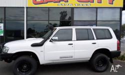 Nissan Patrol DX GU 4x4 Wagon 2008 Great looking