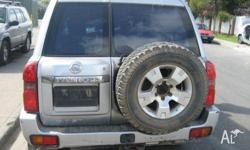 NOW WRECKING ALL NISSAN PATROL MODELS FROM 1997 GU TO