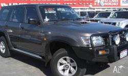 NISSAN,PATROL,ST,2003, WAGON, TURBO, 3L, MANUAL,