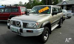NISSAN,PATROL,GU,2001, Gold, WAGON, DIESEL, MANUAL,