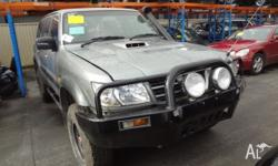 Nissan Patrol Manual Diesel 05�03 Wrecking This 3.0