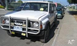 NOW WRECKING ALL NISSAN PATROL MODELS FROM 1986 GQ TO