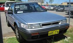 NISSAN,PINTARA,1990, 4dr SEDAN, 2, 4cyl, 4sp AUTOMATIC,
