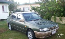 Nissan Pulsar, no longer needed. Has been in the family