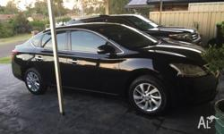Hello I have my Nissan pulsar b17 st sedan black 2013