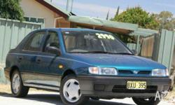 NISSAN, Pulsar, 1994, Front Wheel Drive, Blue, GREY