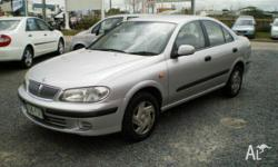 NISSAN,Pulsar,N16,2001, Front Wheel Drive, Silver, 4dr