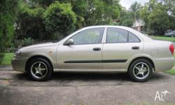 Nissan Pulsar St 2003 model, Gold in color. Brand new