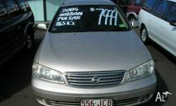 NISSAN,PULSAR,ST,2004, Gold, SEDAN, PETROL, MANUAL,