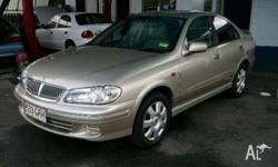 NISSAN,PULSAR,N16,2002, Gold, 4dr SEDAN, 1.8, 4cyl,