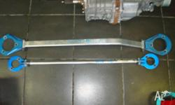 nissan silvia s13 cusco front and rear strut brace