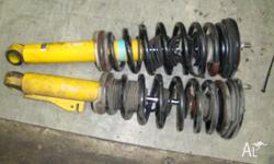 nissan skyline 1996 front pair bilsteins 30mm low shock