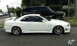 NISSAN, SKYLINE, GT, 1998, WHITE, 2dr COUPE, 4cyl,
