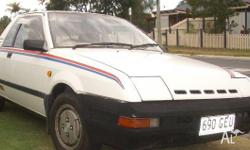 1983 NISSAN EXA TURBO This is a very well conditioned
