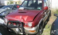 NOW WRECKING ALL NISSANTERRANO MODELS ,FROM 1989 TO
