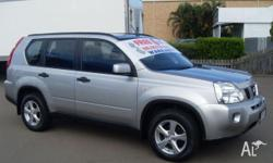 NISSAN,X-TRAIL,T31,2008, 4x4, SILVER, GREY trim, 4D