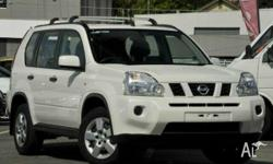 NISSAN,X-TRAIL,T31,2008, 4x4, White, BLACK trim, 4D