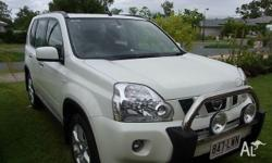 NISSAN, X-TRAIL, 2009, 4X4 DIAMOND WHITE, 4D WAGON,