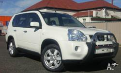 NISSAN,X-TRAIL,T31 MY10,2009, 4x4, White, 4D WAGON,