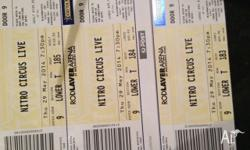 1 Adult and 2 Junior tickets for Nitro Circus Melbourne