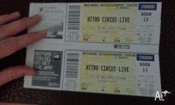 I have for sale 2 x Nitro Circus Tickets for this