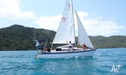 Noelex 25 trailer sailer, No 916, Australian built with