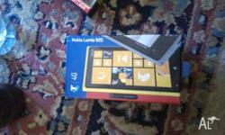 Nokia Lumia 920, Brand new in box. Has been opened to