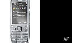 Nokia E52 , 3.2MP Camera, GPS Function. Has Internet,