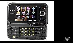 Nokia Slide 6760 ( unlocked any SiM ) Phone. QWERTY