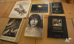 Various non-fiction books in various condition (mostly