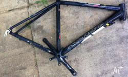 Norco bike frame moutain bike size M/L comes with crank