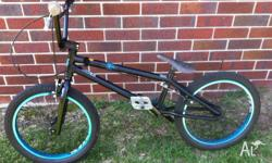 Excellent condition as hardly ridden. A black 20' Norco