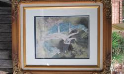 For sale I have an old Norman Lindsay framed picture in