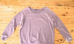 Hi! NOW Purple Jumper for Sale! Vintage, Collectable