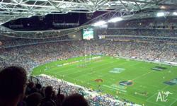 3 x 2015 NRL Grand Final Tickets, price is $420. Aisle