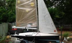 This NS 14 is a great starter into the world of sailing