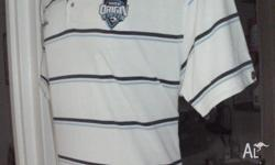 "NSW BLUES ""NSWRL"" SUPPORTERS POLO SHIRT, SIZE XL"