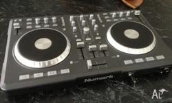 Numark Mixtrack Pro DJ Controller used once and then
