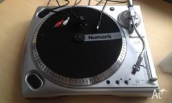 Very little used turntable to convert vinyl to digital.