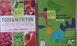 3rd year nursing textbooks for sale. Prices as listed.