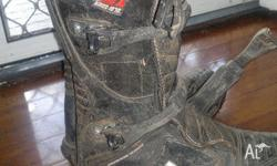 O'Neal motorcross boots size L11/S12 Used no more than