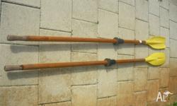 For Sale 1 pair Oars. length 213cm approx 7 feet long.