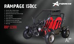 OFF ROAD BUGGY,ATOMIK RAMPAGE,150cc,2011, High Quality