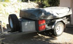 Very good heavy duty off road camper trailer in