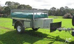 TOP QUALITY OFF ROAD CAMPER TRAILER HOT DIPPED