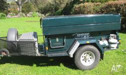 Challenge Off Road Family Camper built in Adelaide in