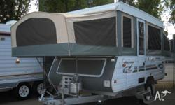 Off Road Out Back Jayco Eagle Camper, 2002, Outback